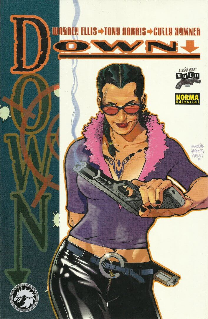 Down (Unitario) - Comic Noir #27 - Warren Ellis - Norma Editorial