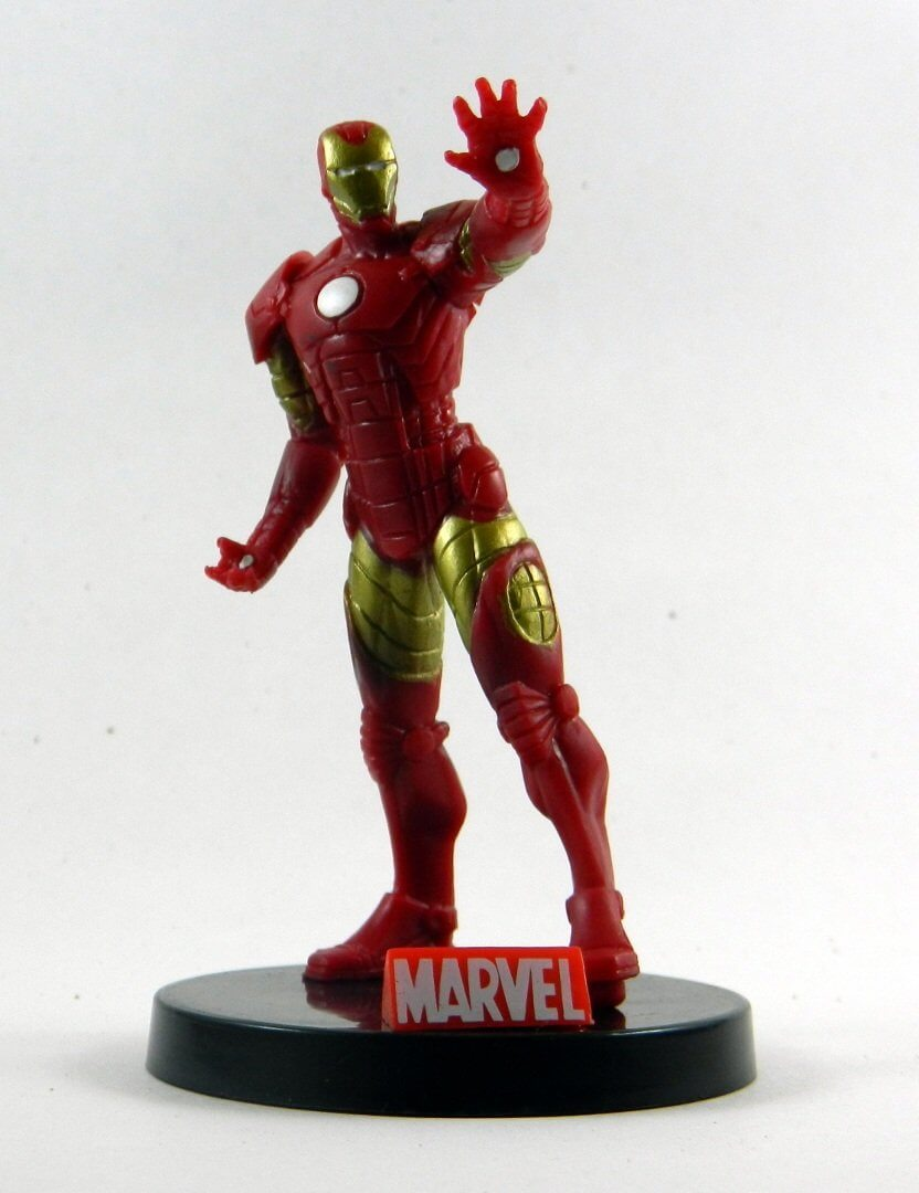 Iron Man - Miniaturas Héroes Marvel - 4'' (10 cm)