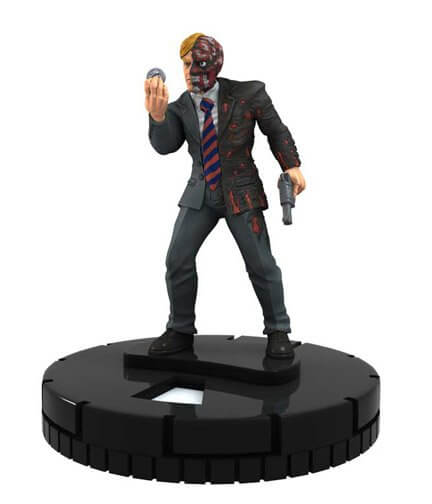 Two-Face - dkr009 - DC The Dark Knight Rises - HeroClix