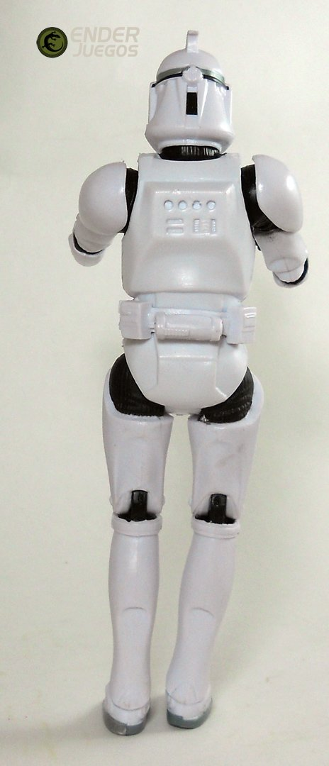 Clonetrooper -  star Wars - Imitación Black Series - 6'' (15 cm)