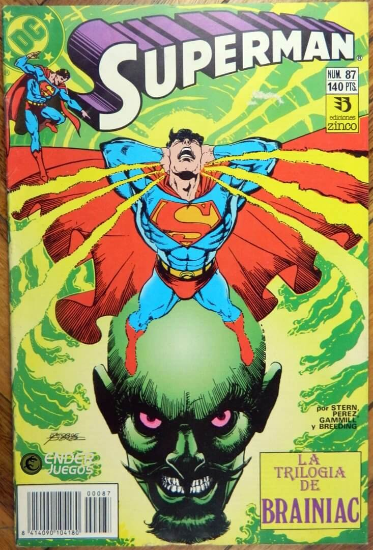 Superman #87 #88 y #90 vol.2 - La trilogía de Brainiac (completo)