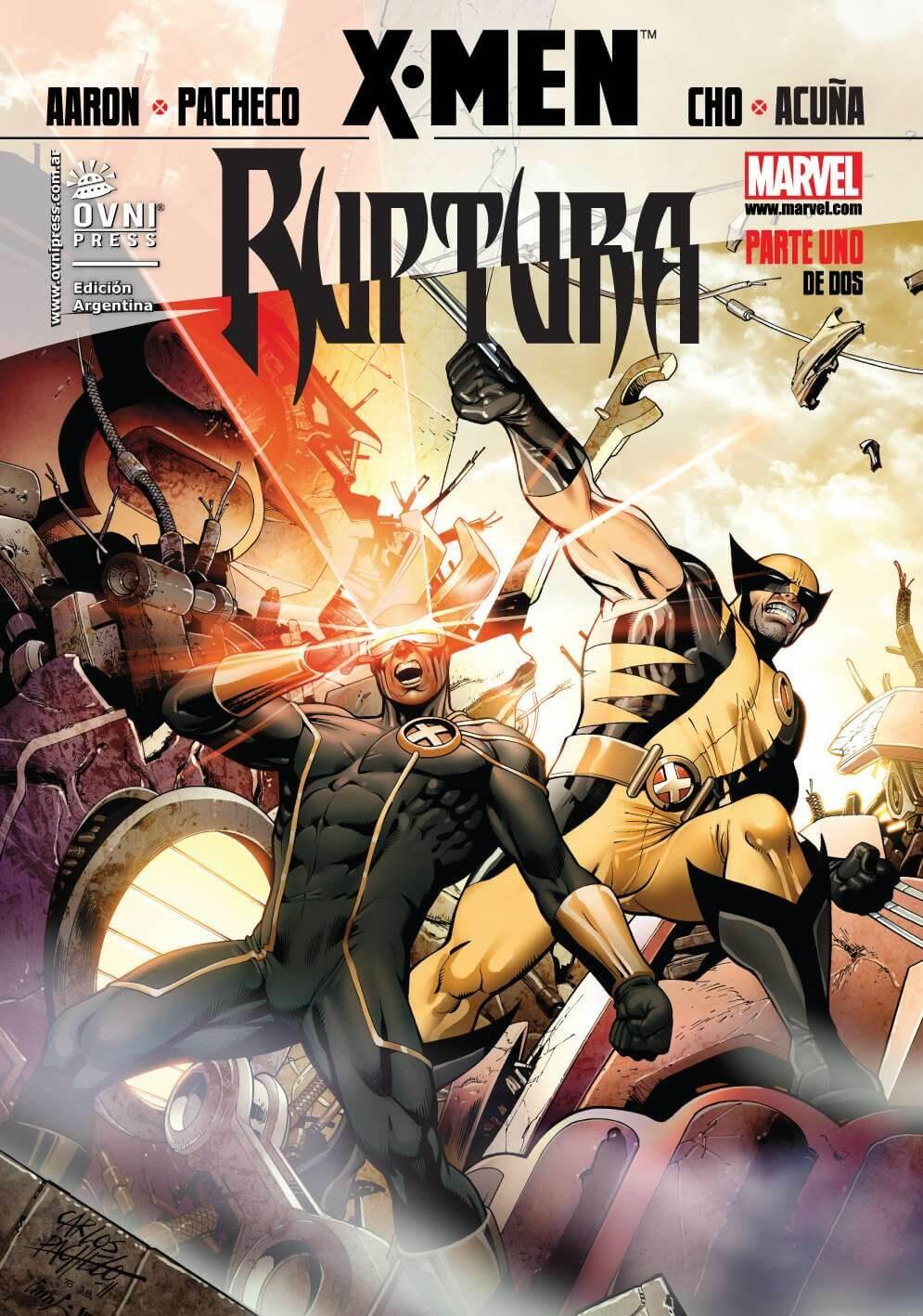 X-men #6 y 7 - saga: Ruptura (completa)