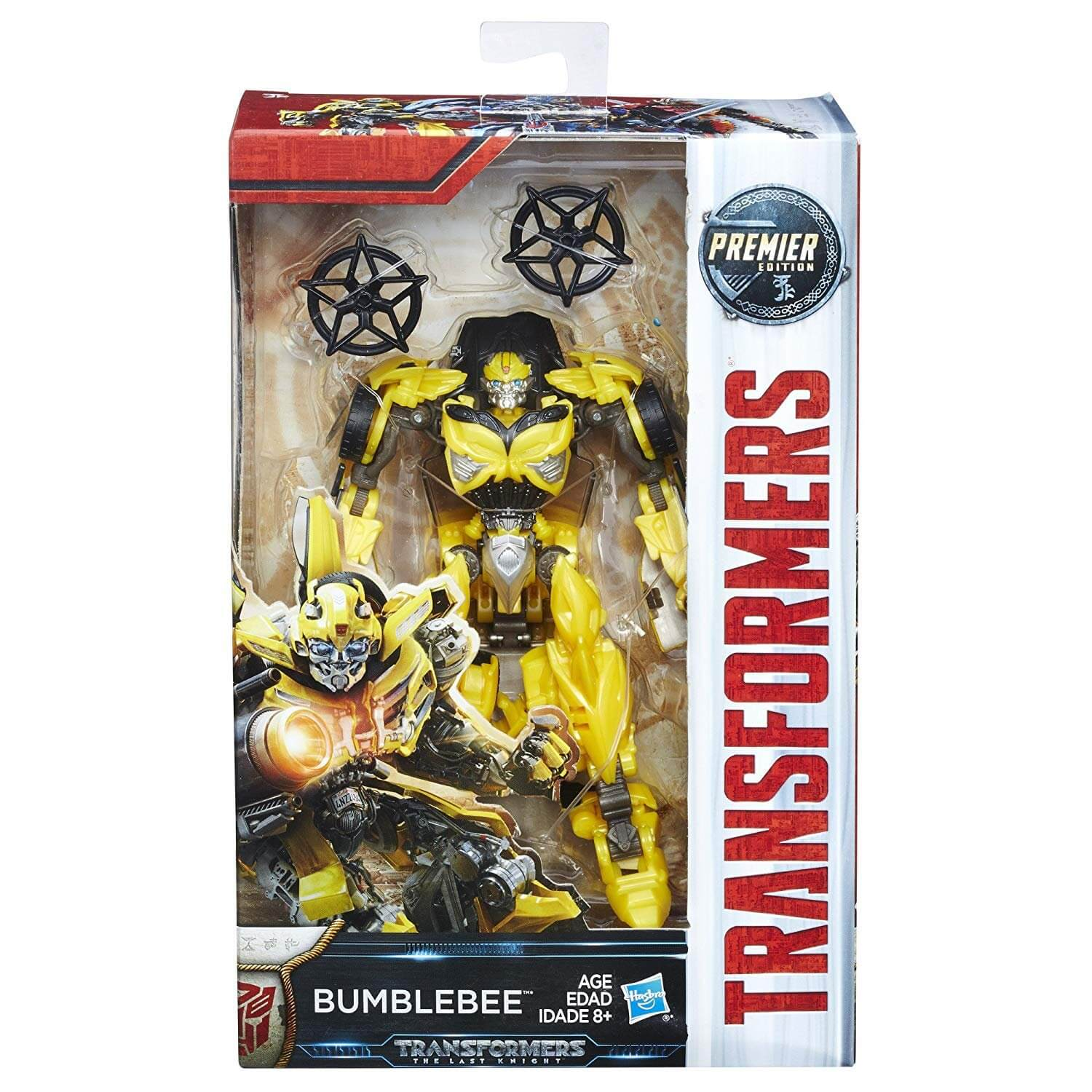 Bumblebee - Transformers: The Last Knight Premier Edition Deluxe - Hasbro