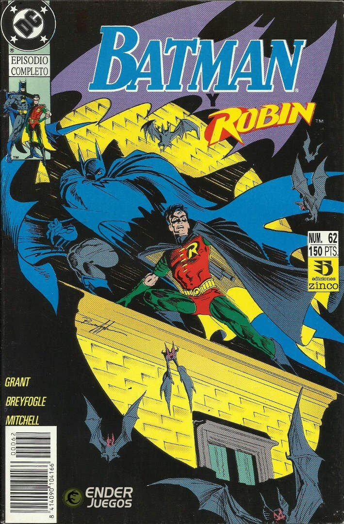 Batman #62 - Debut de Tim Drake como Robin