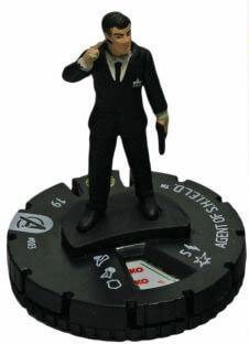 Agent of S.H.I.E.L.D. - avm003 - Marvel Avengers Movie - HeroClix