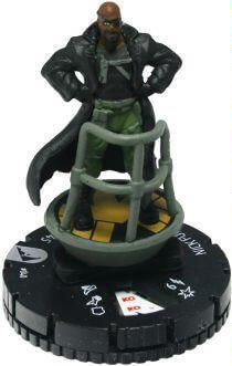 Nick Fury - cw040 - Marvel Chaos War - HeroClix