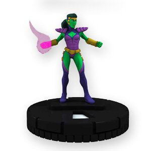 Lyja the Lazerfist - gg017 - Marvel Galactic Guardians - Heroclix