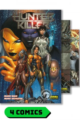 Hunter Killer #1 al 4 (colección completa) - Norma Editorial