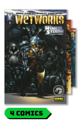 Wetworks #1 al 4 (completo) - Norma Editorial