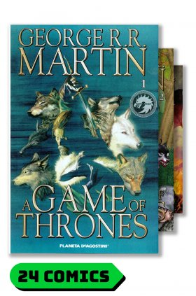 A Game of Thrones #1 al 24 y extra (completo) - Comics - Planeta DeAgostini