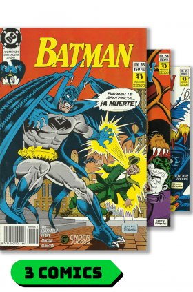 Batman #53 al 55 (completo) - Saga: Comics no autorizados