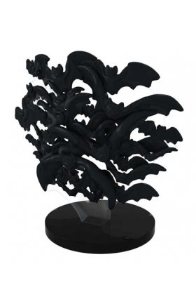 Flock of Bats (Black) - bm099A - DC Batman - HeroClix