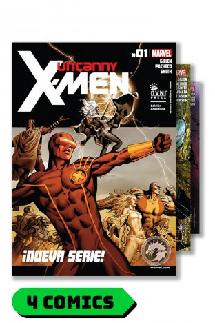 Uncanny X-men #1 al 4 - Ovni Press
