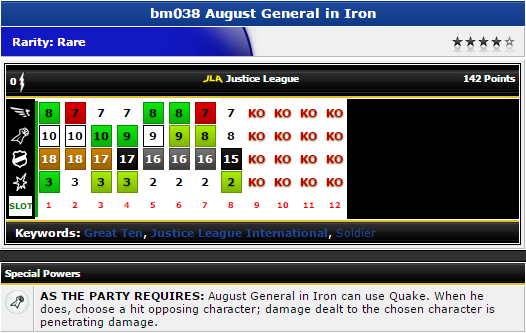 Heroclix - August General in Iron