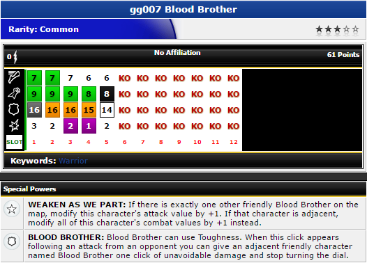 Heroclix - Blood Brother