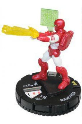 Rocket Red - bm035 - DC Batman - HeroClix