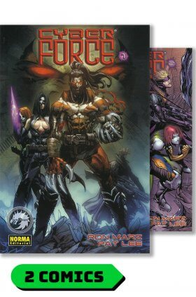 Cyberforce #1 y 2 (completo) - Norma Editorial