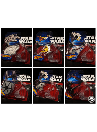 Set 6 naves Star Wars (completo) - Die Cast