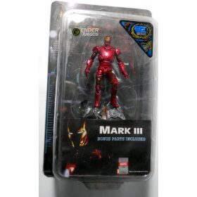 Iron Man Mark III - Unrivaled Fighter - D.T.A - 4'' (10 cm)