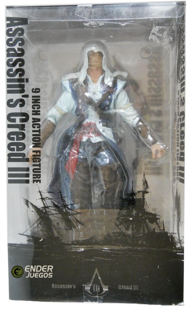 Connor - Assassin's Creed III - 9'' (23 cm) - NECA