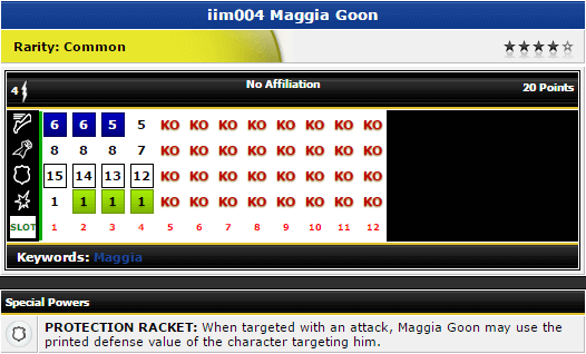 Maggia Goon - iim004 - Marvel The Invincible Iron Man - HeroClix