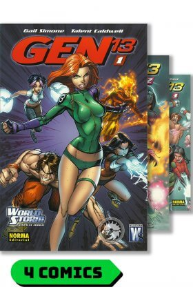 Gen 13 - Tomos recopilatorios #1 al 4 - Norma Editorial