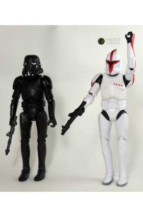 Set Star Wars - Imitación Black Series - 6'' (15 cm)