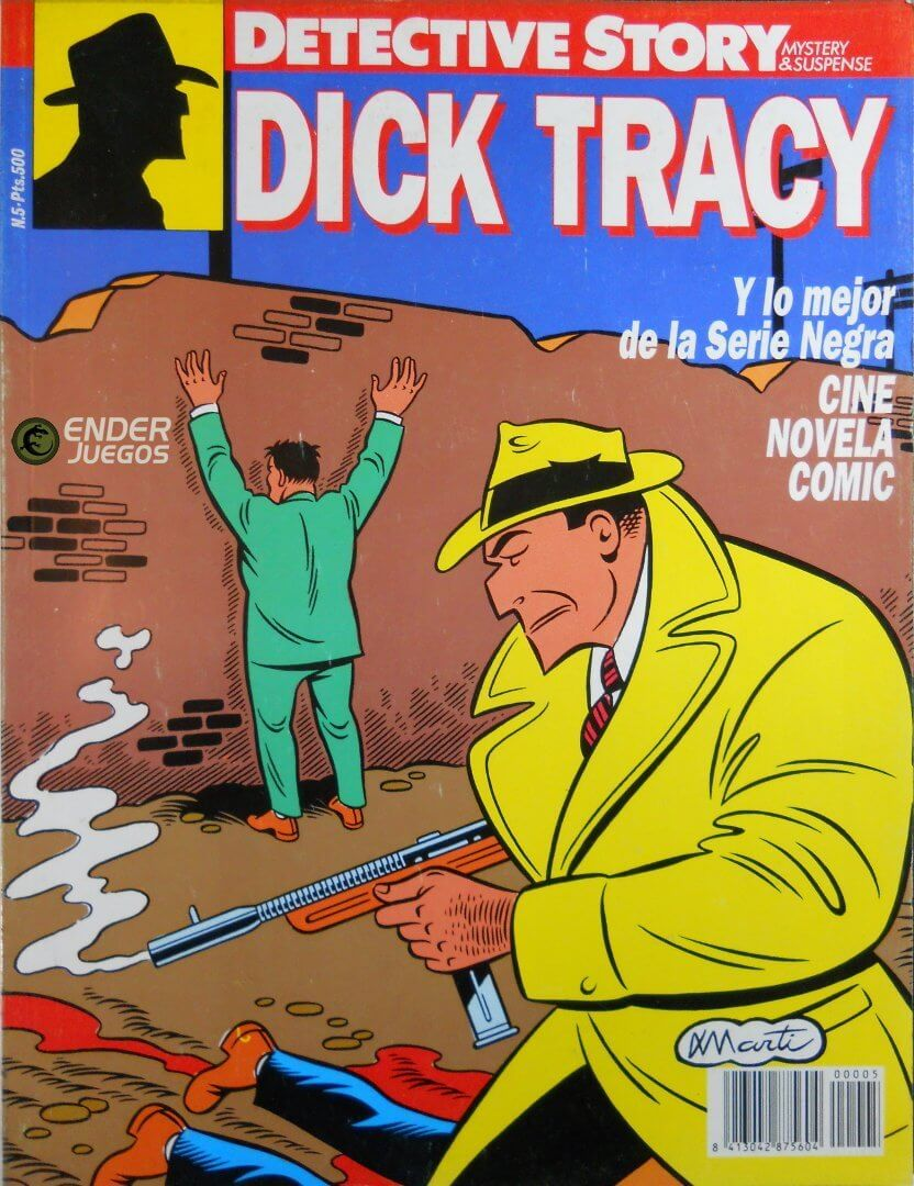 Detective Story - Dick Tracy #1 al 5 (completo)