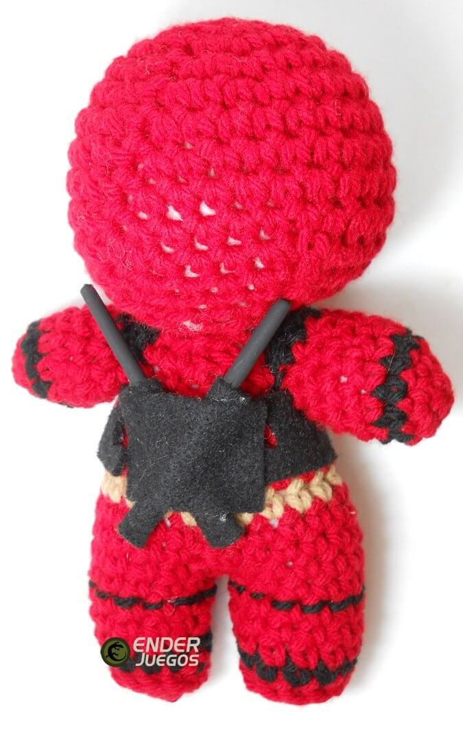 Deadpool Crochet Pattern Instant Download Amigurumi Plush | Etsy | 1080x675