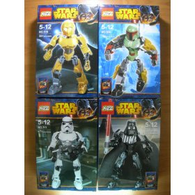 KSZ Star Wars estilo Bionicles
