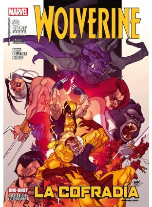 Wolverine #16 - La Cofradía (autoconclusivo) - Ovni Press