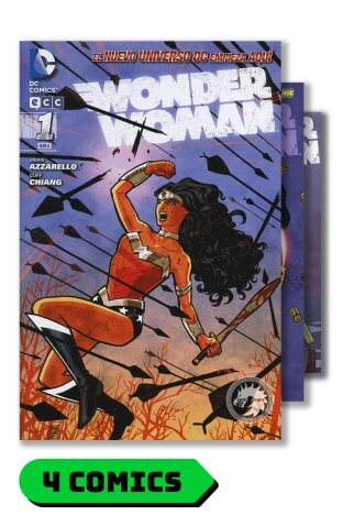 Wonder Woman #1 al 4 - Tomos Recopilatorios - Por Azzarello